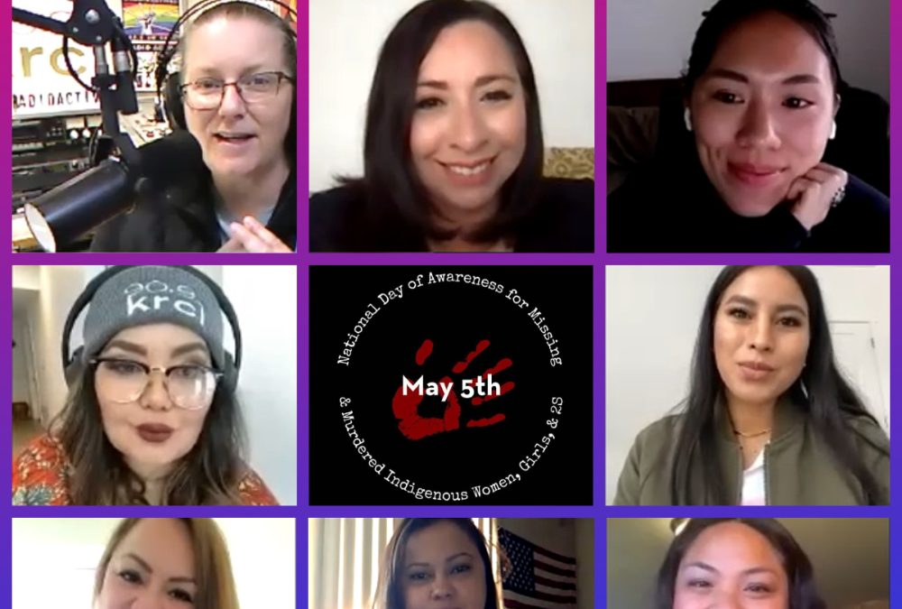 KRCL RadioACTive Discussion MMIW+ Activists