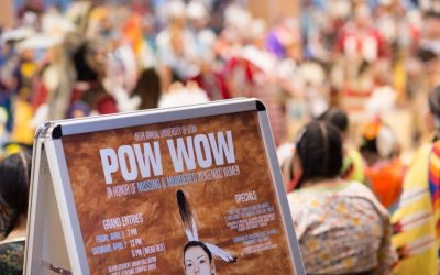 Pandos at University of Utah PowWow Raising Awareness for MMIW+
